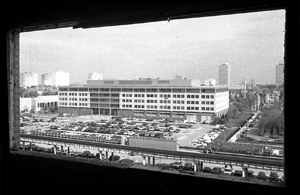 The police station from Stateway Gardens